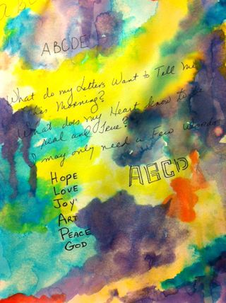 Color and Journaling 8-7-11