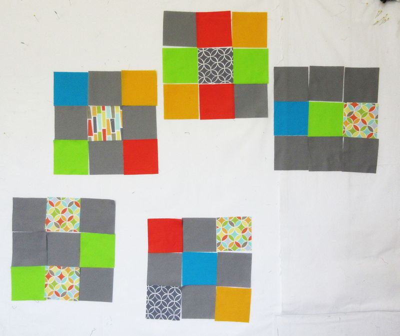 Challenge quilt original blocks